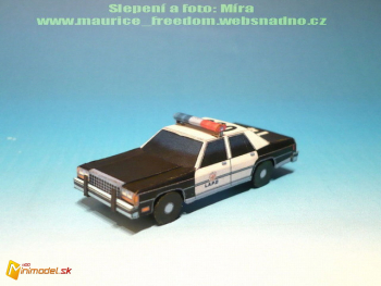 Ford Crown Victoria LTD Policie