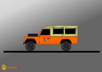 FE0528 LAND ROVER DEFENDER