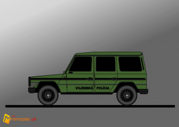 FE1594 MERCEDES G MILITARY POLICE