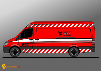FE2345 MERCEDES SPRINTER FALCK