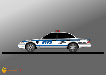 FE1063 FORD CROWN VICTORIA