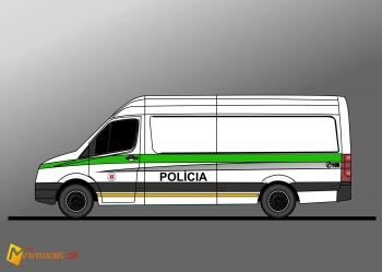 FE1802 VW CRAFTER POLICE