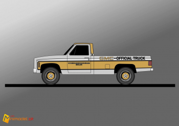 FE3706 GMC PICKUP INDY 500