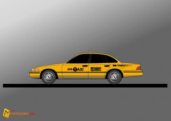 FE1081 FORD CROWN VICTORIA