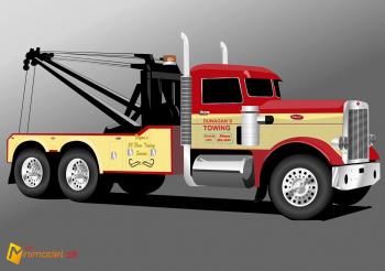 FE2002 PETERBILT 359 WRECKER