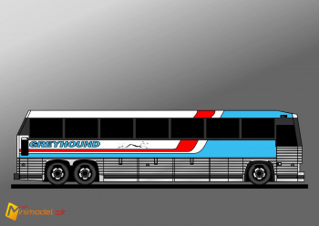 FE2283 MCI MC9 GREYHOUND