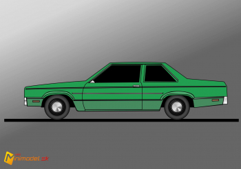 FE2899 FORD FAIRMONT 2 DOORS