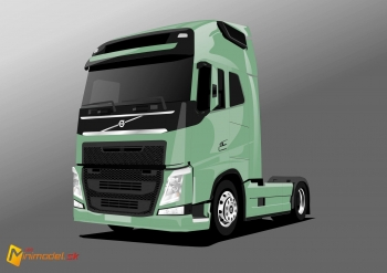 FE3292 VOLVO FH 16 Green
