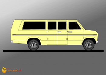 FE3476 FORD ECONOLINE